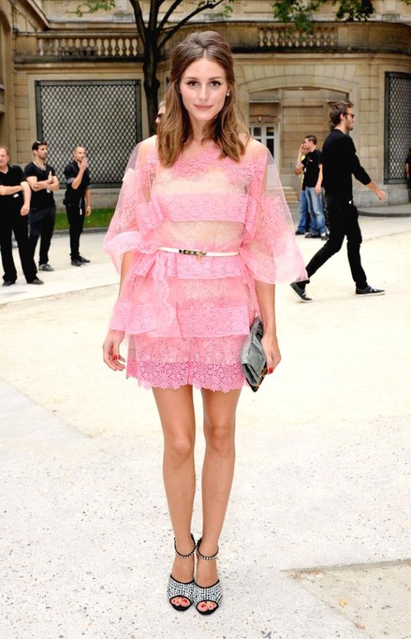 Olivia Palermo - Looks da Olivia Palermo - Vestido de renda - Olivia Palermo 2012
