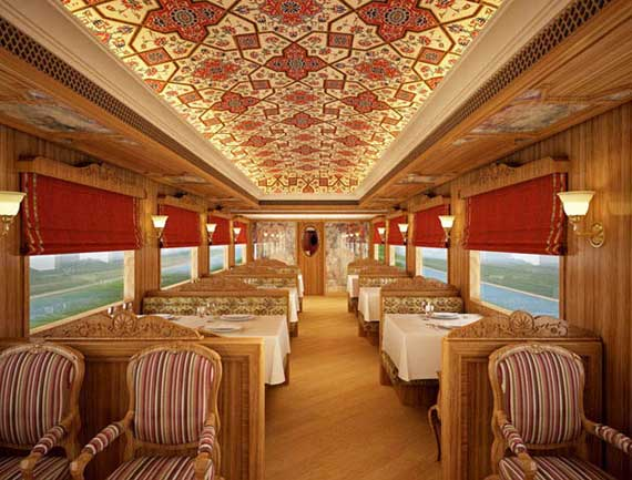luxo trem india 2