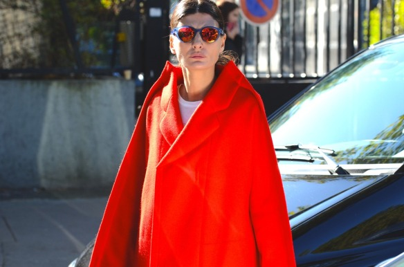 NobodyKnowsMarc.com Gianluca Senese Giovanna Battaglia paris fashion week street style kenzo [4]