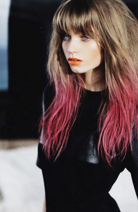 Dip-Dye Hair 1