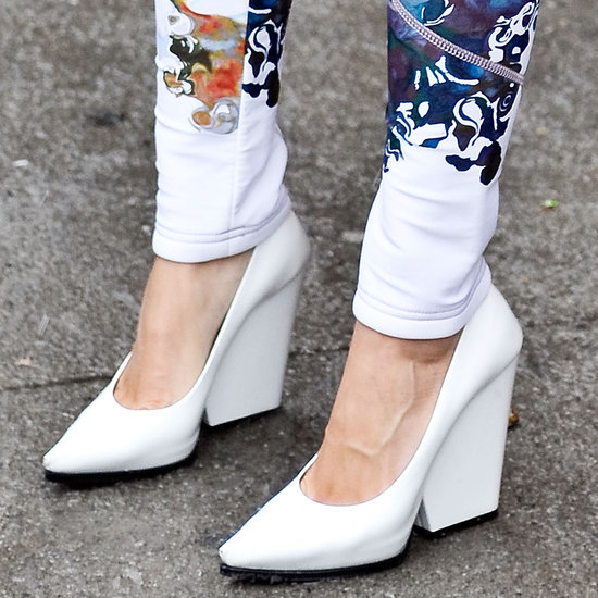 Street-Style-Shoes-Fashion-Week-Fall-2013-structural shoes-white shoes