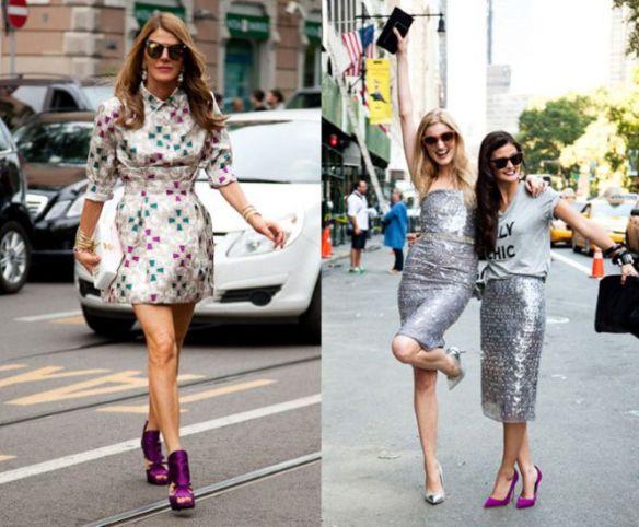 Anna-Dello-Russo-da-Vogue-Japão-em-Milão-e-Sassy-em-prata-com-Peony-Lim-na-primavera-verão-em-Nova-York
