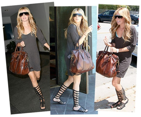 ashley-tisdale-gladiator-boots