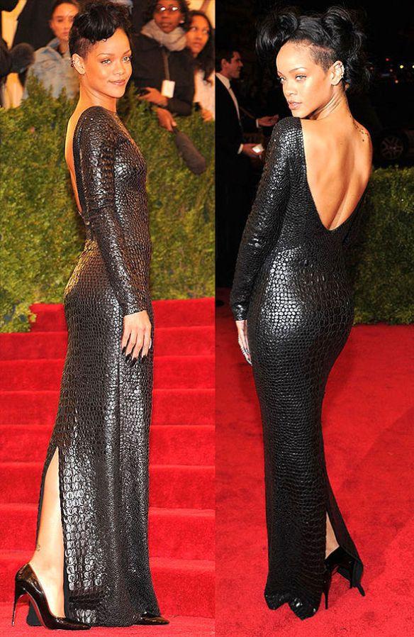 Rihanna-vestido-de-gala-textura-croco